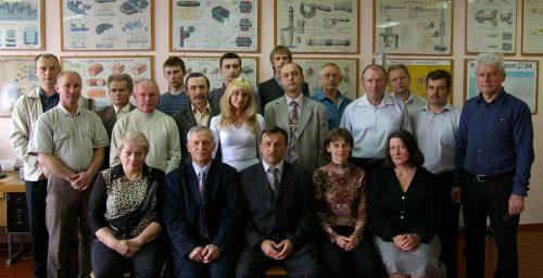 Склад кафедри приладів і контрольно-вимірювальних систем