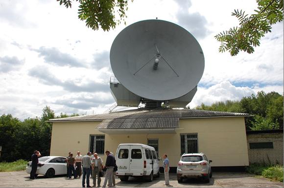 Новий об'єкт керування – 12-метрова антенна станція ТНА-57